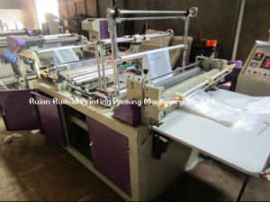 Fully Automatic Plastic Bags Making Machine pictures & photos