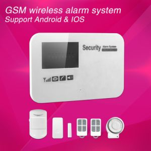 Andriod & iPhone Mobile Operation GSM Wireless Alarm System pictures & photos