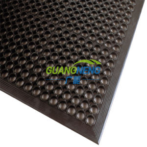 Anti Slip Interlocking Stable Mat Indoor Drainage Rubber Mat Kitchen Anti-Slip Rubber Mat Oil Resistance Rubber Mat pictures & photos