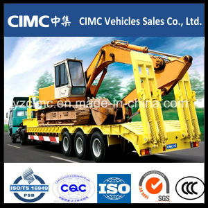 Cimc Low Bed Semi Trailer on Sale pictures & photos