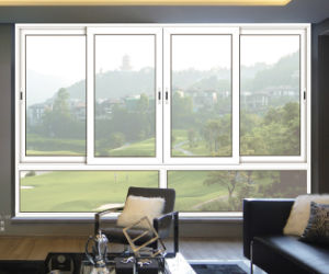 Price of Aluminum Sliding Window with Fly Mesh pictures & photos