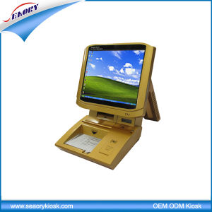 Desktop Visitor Management Kiosk, Information Queue Kiosk pictures & photos