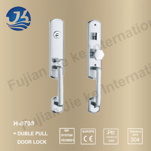 High Quality 304 Stainless Steel Door Lock (H-8708) pictures & photos