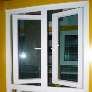 White Color Swing, Casement, Aluminum Window Design (TS-1073) pictures & photos