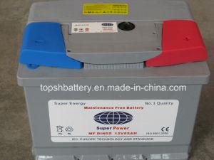 Maintenance Free Automobile Battery (DIN55 12V55AH)