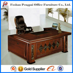 Luxury Melamine Executive Office Desk Set Manager Table (A 2267)