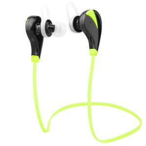 Bluetooth Headphones, Bluetooth Headset Noise Cancelling Headphones with Microphone Running, Sports, Gym Sweatproof Wireless Earphones for iPhone 6, 6 Plus, 6s, pictures & photos