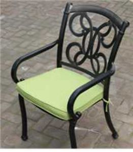 New Cast Aluminum Stationary Chair Furniture pictures & photos