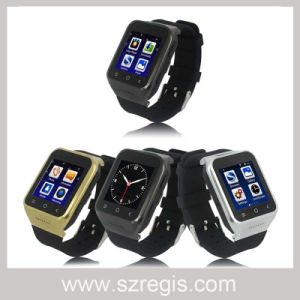 Android Dual Core WiFi Camera Smart Cellphone Watch Mobile Phone pictures & photos