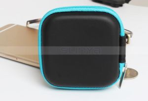 Square Zipper EVA Bags Mobile Phone Accessories Key Cash Cable Earphone Storage Bag Purse Box pictures & photos