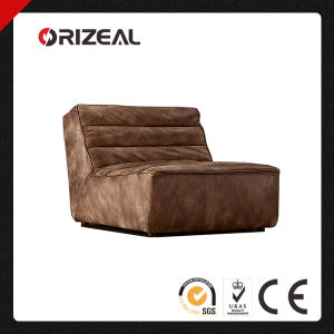 Orizeal Modern Leisure Genuine Leather Armless Chair (OZ-LS-2018) pictures & photos