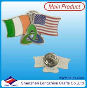 Military Flag Badge of Irland and America pictures & photos
