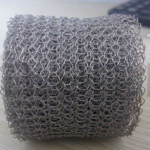 Stainless Steel Knitted Wire Mesh in Stock pictures & photos