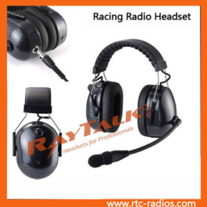 Carbon Fiber Racing Radio Headset for 2 Way Radios pictures & photos