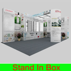 Custom Portable Modular Exhibition Booth Stand for LED Lighting Show pictures & photos