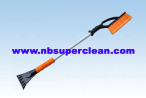 Cheap Professional Extendable Snow Brush with Ice Scraper (CN2267) pictures & photos