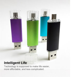 Full Capacity Flash Drive 8GB OTG (GC-M001) pictures & photos