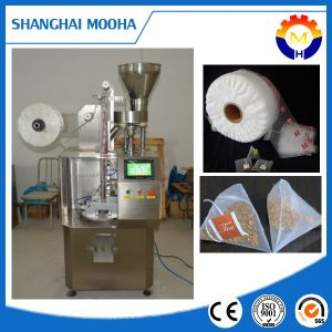 Filter Triangle/Pyramid Tea Bag Packing Machine (string and tag) pictures & photos