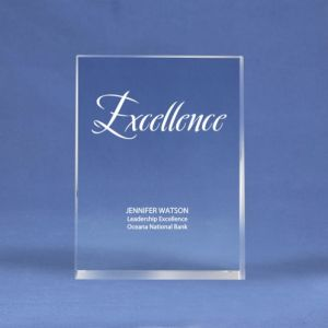 Rectangle Crystal Logo Collection Trophy for Achievements Awards (#70155) pictures & photos