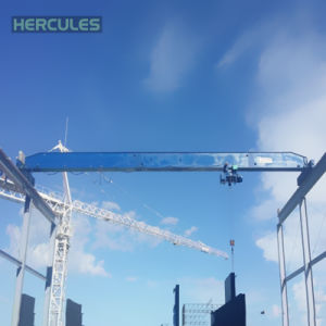 Hercules Single Girder Overhead Traveling Crane pictures & photos