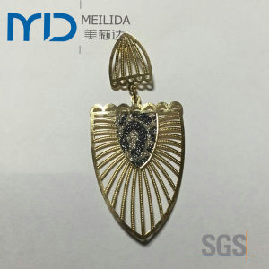 China Elegant Copper Filigree Earrings Manufacturer and Supplier pictures & photos