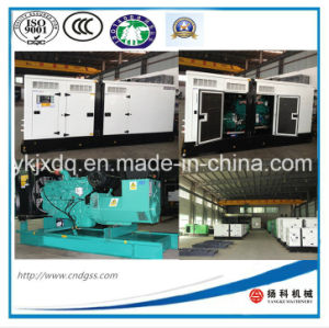 New Design Cummins 600kw/750kVA Silent Diesel Generator pictures & photos