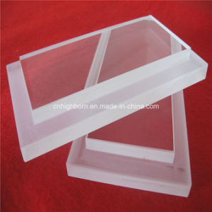 Further Processed Quartz Glass Sheet with Step pictures & photos