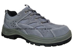 Sport Style Grey Suede Safety Shoes (S05001) pictures & photos