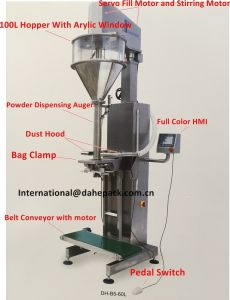 Semi Automatic Fill-to-Weight Powder Filling Machine pictures & photos
