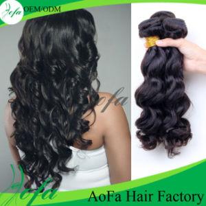 100% Natural Wave Virgin Hair Human Brazilian Hair pictures & photos