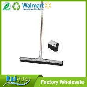 Easy Cleaning Rubber Floor Squeegee with Duplex Stainless Steel pictures & photos