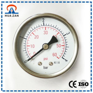Steam Pressure Gauge Manufacturer 2.0 Inches Steam Boiler Pressure Gauge pictures & photos