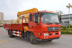 Widely Used Construction Equipment Three Axle 12ton Truck Mounted Crane pictures & photos