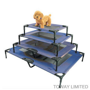 Customized Pet Supply Folded Metal Strong Dog Outdoor Home Beds pictures & photos