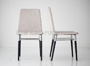 Modern Stainless Steel Foot PU Leather Dining Chair (NK-DC032) pictures & photos