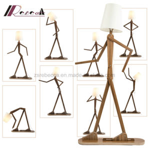Creative Funny Man Shape Adjustable Floor Lamp pictures & photos