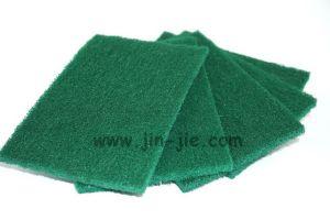 Bulk Abrasive Colorful Nylon Polyester Kitchen Sponge Pad pictures & photos