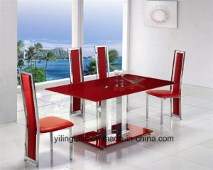 Color Pattern Fritted Dining Table Glass pictures & photos