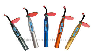 Hot Sale Wireless Dental LED Curing Light with Lotus Base pictures & photos