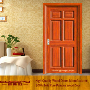 Solid Core MDF Panel Interior Door (GSP6-018) pictures & photos
