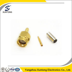 SMA Male Straight RF Connector for Rg316 pictures & photos