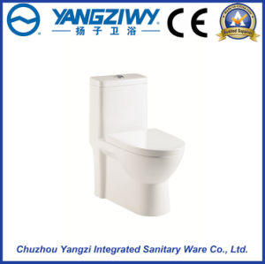 Siphonic Hedging One-Piece Bathroom Toilet