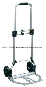 Foldable Aluminium Hand Truck (HT022ES) pictures & photos