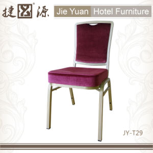 Banquet Hotel Furniture Upholstered Stacking Chairs (JY-T29) pictures & photos