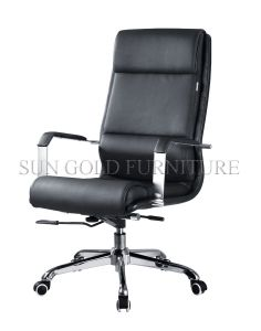 Genuine Leather Aluminium Office Executive Manager Chair (SZ-OCE164) pictures & photos
