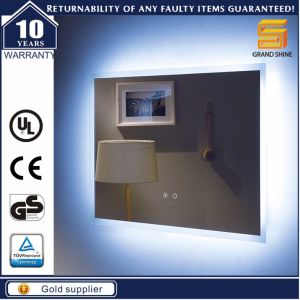 Us Wall Mounted Hotel Bathroom LED Backlit Lighted Mirror pictures & photos