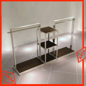 Metal Portable Clothes Rail Display Rack pictures & photos