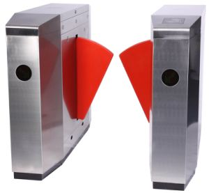 Automatic Flap Barrier Turnstile for Access Control Security Gate pictures & photos