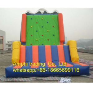 Inflatable Slide, Inflatable Climbing Wall, Certified Inflatable Rock Climbing Sports pictures & photos