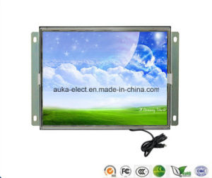 Open Frame 12.1 Inch Resistive Touch Screen Monitor with DVI VGA pictures & photos